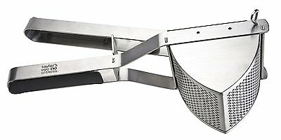 TAYLORS EYE WITNESS Stainless Steel Professional Potato Ricer with Soft Grip