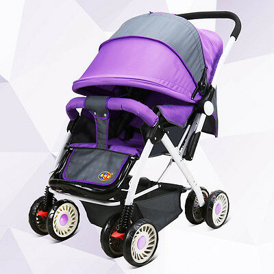 New Baby Stroller High Landscape Pushchair Summer Winter Available Pram Buggy