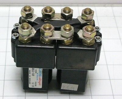 Curtis Albright SW822-50P reversing contactor relay switch solenoid Cushman 12v