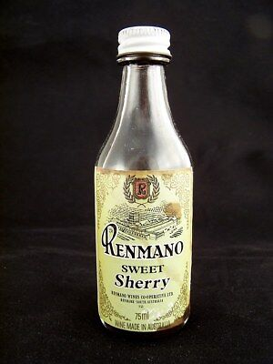 Miniature circa 1978 RENMANO SWEET SHERRY Isle of Wine