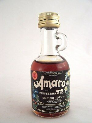 Miniature circa 1972 AMARO CENTERBA 72 Isle of Wine