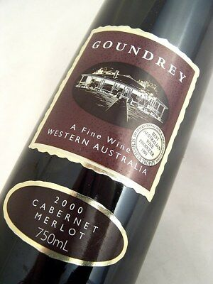 2000 GOUNDREY WINES Cabernet Merlot Isle of Wine