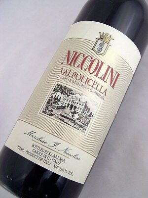 1989 NICCOLINI Valpolicella DOC Red Blend Isle of Wine