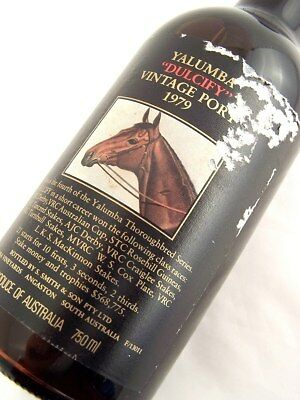 1979 YALUMBA DULCIFY Vintage Port BB FREE SHIP Isle of Wine