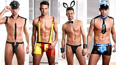 Wild Crazy Mens Stag Do Night Funny Fancy Dress Party Costume Outfit