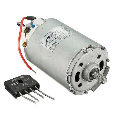 AC 220V Rectifier DC Magnet Motor Electric 10000RPM 300W High Power Permanent