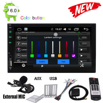 2 Din Android 5.1 Autoradio Gps Navigation Bluetooth Touchscreen Wifi Cd Usb Sd