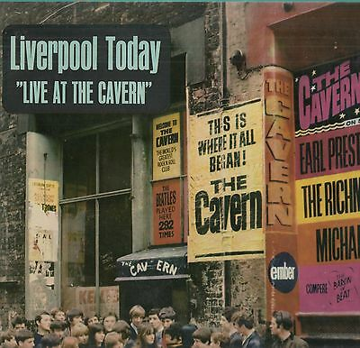 'Liverpool Today Live At The Cavern' 1965 UK Ember Mono LP. Ex!