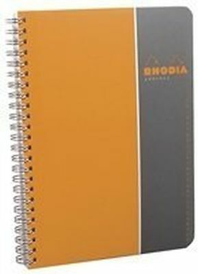 Clairefontaine Rhodia A-Z Address Book A5 Orange 119470C 180 Pages 90 Sheets