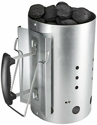 Bruzzzler 200100001066 30 X 19 Cm Chimney Starter With Safety Handle Charcoal -