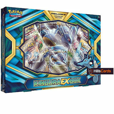 Pokemon Kingdra EX Collection Box: Booster Packs + Promo Cards