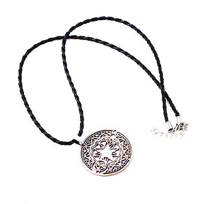 Anime Card Captor Sakura Kinomoto Sakura Magic Circle Metal Necklace Cosplay