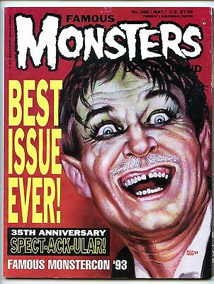 Famous Monsters of Filmland 200  Fine Condition