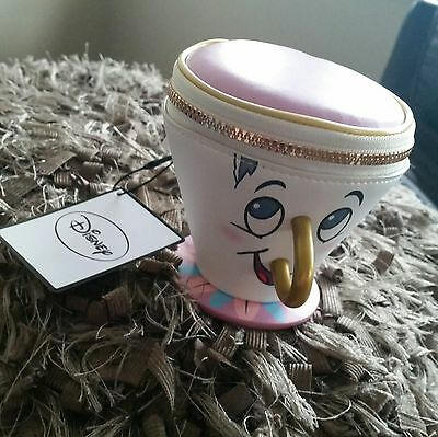 2017 Disney Chip Cup 3D Coin Purse Beauty And The Beast Primark Brand New RARE