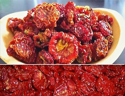 Sun Dried Tomatoes Whole Delicious Healthy Natural Diet. Free Delivery