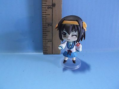 "The Melancholy of Haruhi Suzumiya 2.5""in Figure  school girl crossing guard"