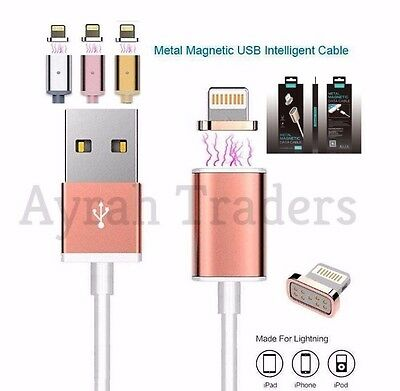 Magnet Charging Cable Charger Lead for Apple iPhone 7, 7Plus, 6, 6 Plus,5,5c,5s