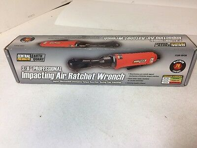 """Central Pneumatic 3/8"""" Impacting Air Ratchet Wrench, 68426, FREE SHIP"""