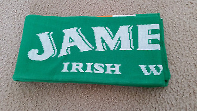 "Jameson Irish Whiskey scarf knit scarf 57"" X 7"""
