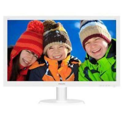 Philips 23.6In 243V5Qhawa Led Fhd 1920X1080 8Ms Hdmi Dvi Vga Speakers Vesa