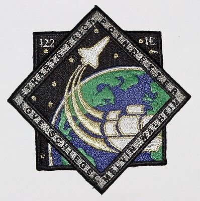 Aufnäher Patch Raumfahrt NASA STS-122 Space Shuttle Atlantis ..........A3135