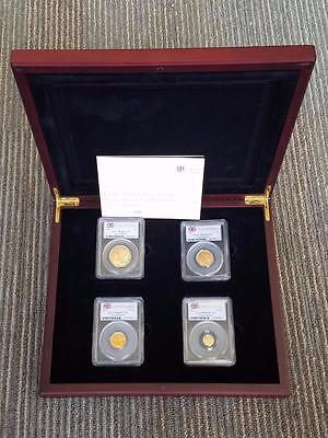 2012 Gold Proof Sovereign PR69 DCAM PCGS First Stike Four UK Coin Collection