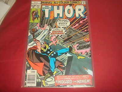THE MIGHTY THOR #267  Marvel Comics 1978  FN/VF