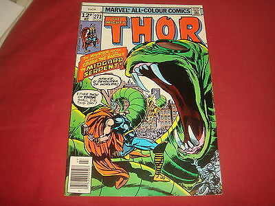THE MIGHTY THOR #273  Marvel Comics 1978  VF