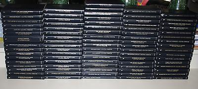 Agatha Christie Mystery Entire Leather-Bound Book Collection 84 Books Lot