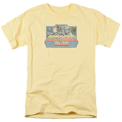 Atari ASTEROIDS DELUXE GAME Artwork Vintage Style Licensed T-Shirt All Sizes