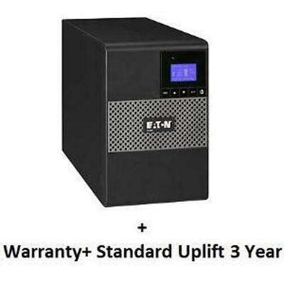 Eaton 5P850Au + Ups Service (Total 3 Years) Bundle Includes: Advance Replacement