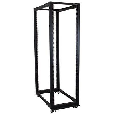 STARTECH 42U Adjustable Depth Open Frame 4 Post Server Rack Cabinet - Flat Pack