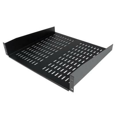 STARTECH 2U 16in Universal Vented Rack Mount Cantilever Shelf - Fixed Server Rac