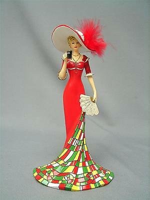 """Coca-Cola Figurine  """"timelessly Refreshing"""" Limited Edition 6434 A Orig Box"""
