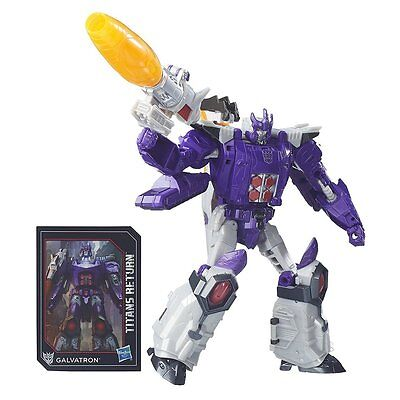 Hasbro Transformers - Titans Return Voyager Galvatron with Nucleon