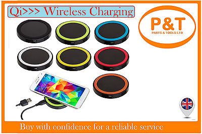 QI Wireless Charger Accepter Charging Receiver Inductive For Samsung Galaxy S345