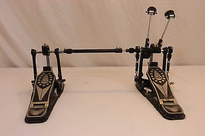 Taye PSK602C Double Kick Drum Bass Chain Drive Pedal Twin Pedals