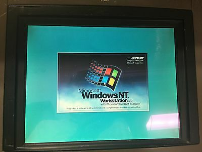 "NCR 7454-3201 12.1"" Color Touch Screen Terminal"