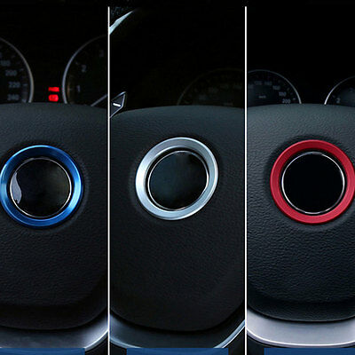 Car Steering Wheel Center Decoration Ring Cover For BMW 1 3 4 5 7 Accessories RS