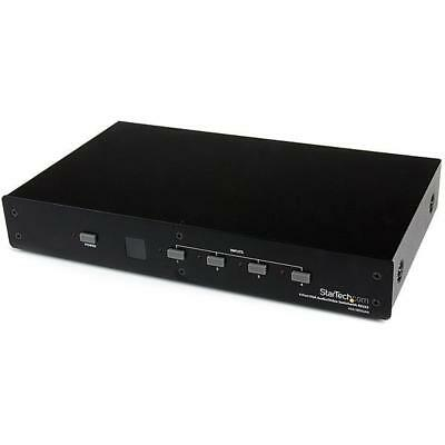 STARTECH 4 Port VGA Video Audio Switch with RS232 control - 4 Port VGA Switch -