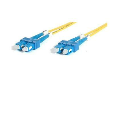 Startech Fiber Optic Cable - Single-Mode Duplex 9/125 - Lszh - Sc/sc - 2 M