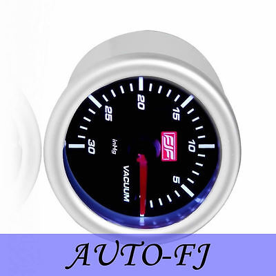 Universal Brand New 2inch 52mm Silver 0-30psi Car Motor Vacuum Gauges Meters