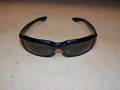 Vintage Ray Ban Bausch Lomb Sunglasses Black Wrap Around Frames Cool