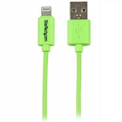 STARTECH 1m 3ft Green Apple 8pin Lightning to USB Cable for iPhone iPod iPad - C