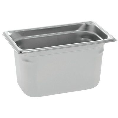 """Vollrath 90462 Super Pan 3 Steam Table Pan, 1/4 Size, Stainless Steel, 6"""""""