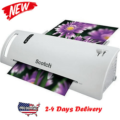 Scotch Thermal Laminator 2 Roller System Laminating Machine FREE Shipping New