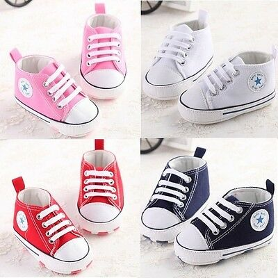 Elegant Infant Newborn Baby Trainers Boy Girl Soft Sole child Shoes Sneaker