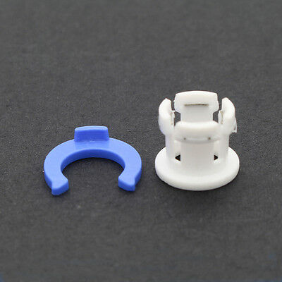 3Dprinter accessory White bowden tube clamp Clip Tube Coupling Collet Blue 5pcs