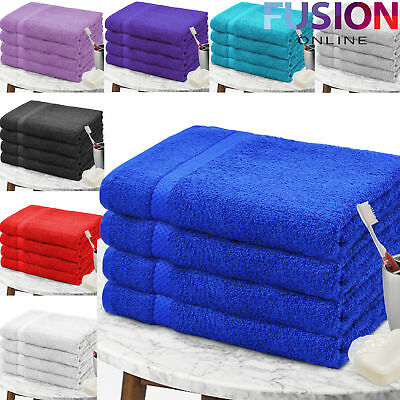 Bath Sheets Super Soft 100% Egyptian Cotton Bath Shower Towels Pack Of 2