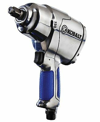 Kobalt Tool Durable Twin-Hammer Mechanism Air Impact Wrench 0.5-in 350-ft-lbs